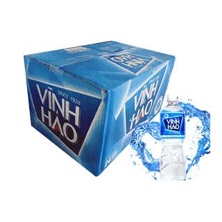 Nước khoáng Vĩnh Hảo 350ml thùng 24 chai